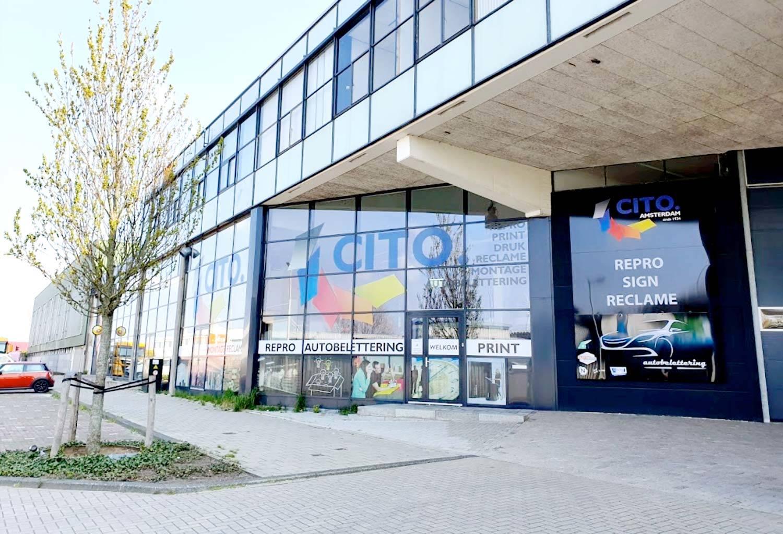 Cito Dartli print shop Amsterdam Sloterdijk